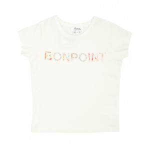 BONPOINT Colorful logo print T-shirt