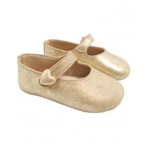 BONPOINT Gold Mary Jane shoes
