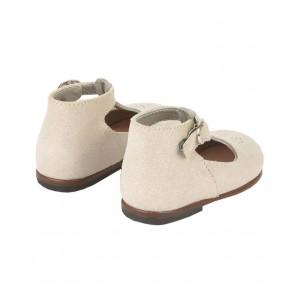 BONPOINT  Leather t-strap shoes