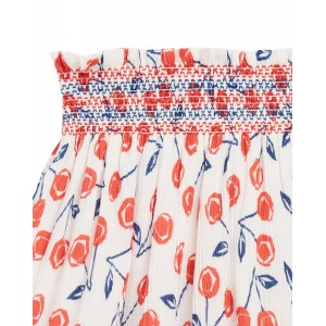 BONPOINT Skirt with cherries