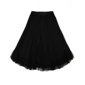 BONPOINT Black tulle skirt