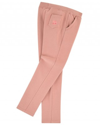 BONPOINT Embroidered logo sweatpants in pink
