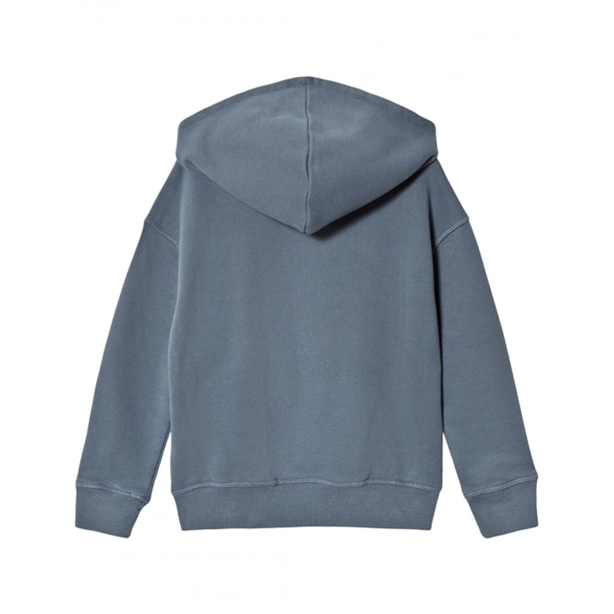 BONPOINT Blue sweatshirt with colorful embroidery