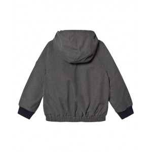 BONPOINT Grey flannel bomber jacket