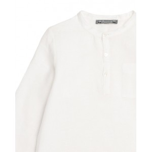 BONPOINT Artiste tunic Milk white