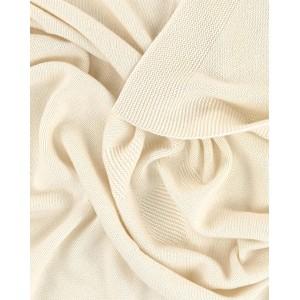 Cashmere milk white blanket