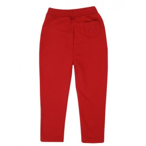 BONPOINT Embroidered logo Sweatpants in red
