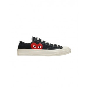 CONVERSE X COMME DES GARCONS PLAY Low top sneakers in black