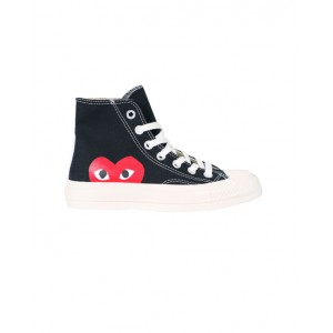 CONVERSE X COMME DES GARCONS PLAY High top sneakers in black