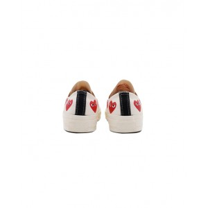 CONVERSE X COMME DES GARCONS PLAY Low top multi heart sneakers
