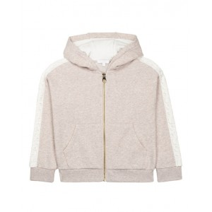 Beige organic cotton hoodie