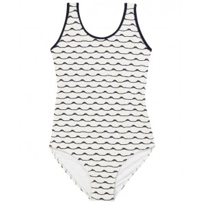 CHLOE Swimsuit with waves print