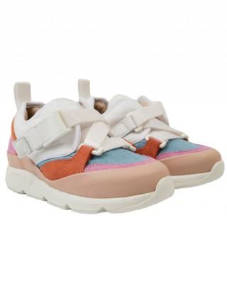 Multicolored trainers