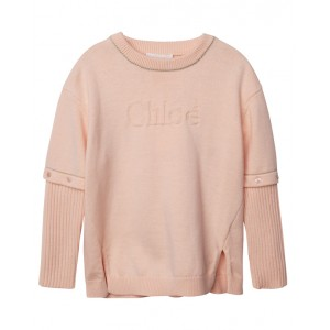 CHLOE Pale pink pullover
