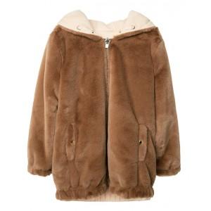 CHLOE Reversible faux fur jacket