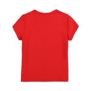 DKNY Logo print T-shirt in red