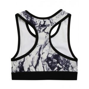DKNY Marble print bra top