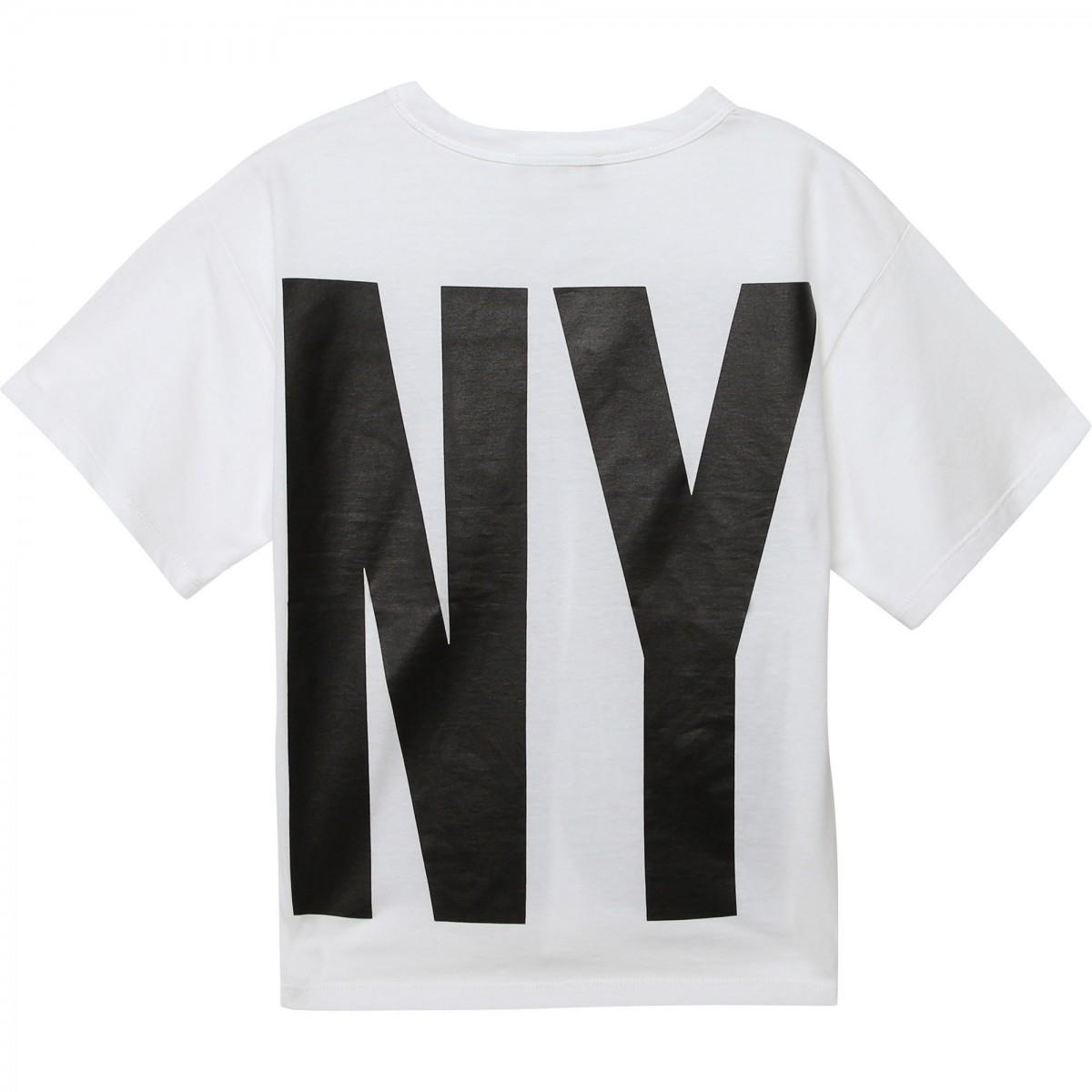 DKNY White&black logo T-shirt