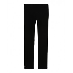 Black leggings with logo