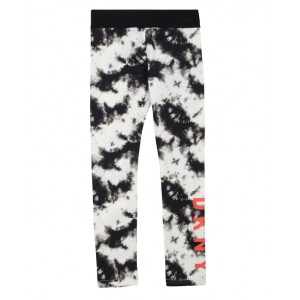 Cloud effect print legging