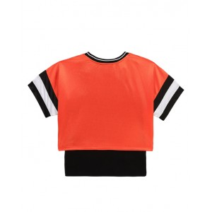 2-In-1 logo T-shirt and top