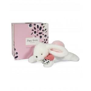 HAPPY BLUSH Pink pompom rabbit