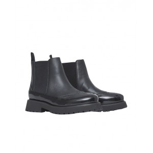 Chelsea boots with brogue-detail