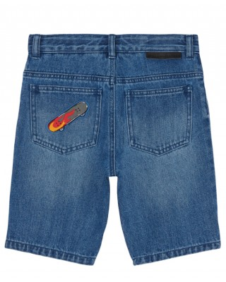Boys shorts jeans with patch