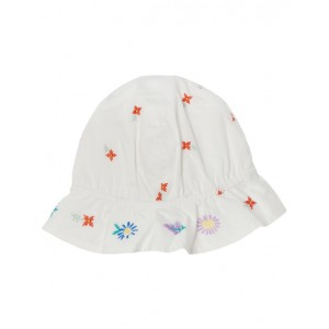 Embroidery white hat
