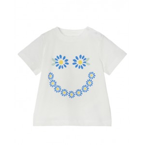 Daisy smile print T-shirt