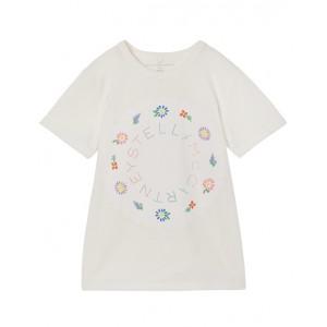 Colorful logo print T-shirt
