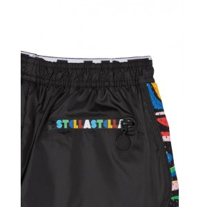 Active shorts with marble motif