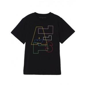 Black Stella logo T-shirt
