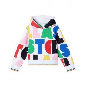 'Stella' print hoodie