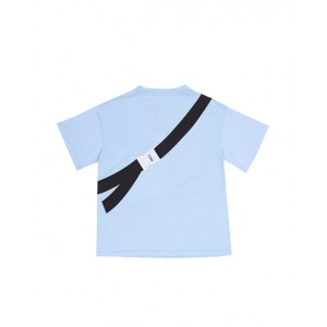 Blue T-shirt with print