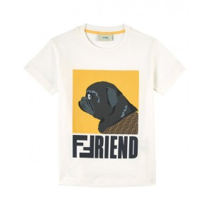 T-shirt with a dog print