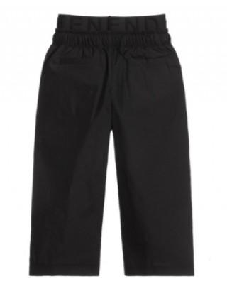 FENDI KIDS Boys cotton trousers