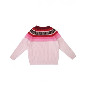 FENDI KIDS Pink knit jumper