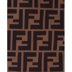 FENDI KIDS FF logo scarf