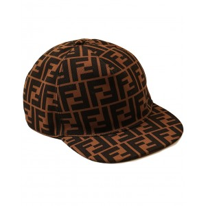 FENDI KIDS FF motif hat
