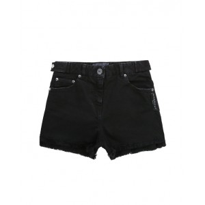 Black short with logo