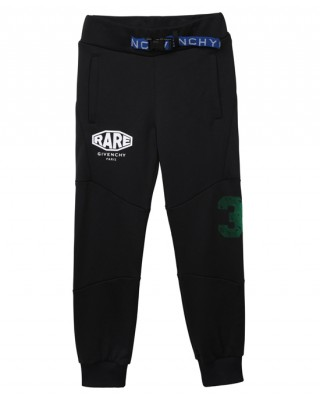Logo joggers with a belt