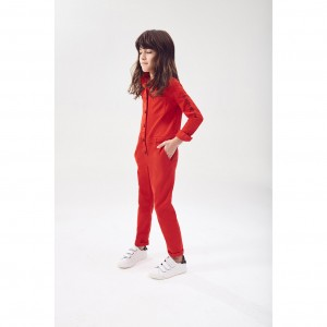 GIVENCHY Bright red jumpsuit