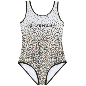 GIVENCHY Floral motif swimsuit