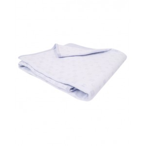 GIVENCHY Light-weight blanket in blue