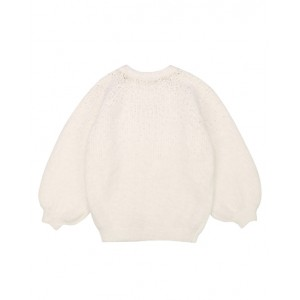 KARL LAGERFELD Ivory sweater with sequins