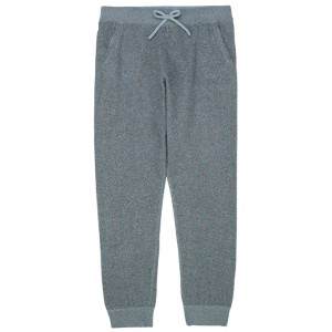 Lurex knit tracksuit pants