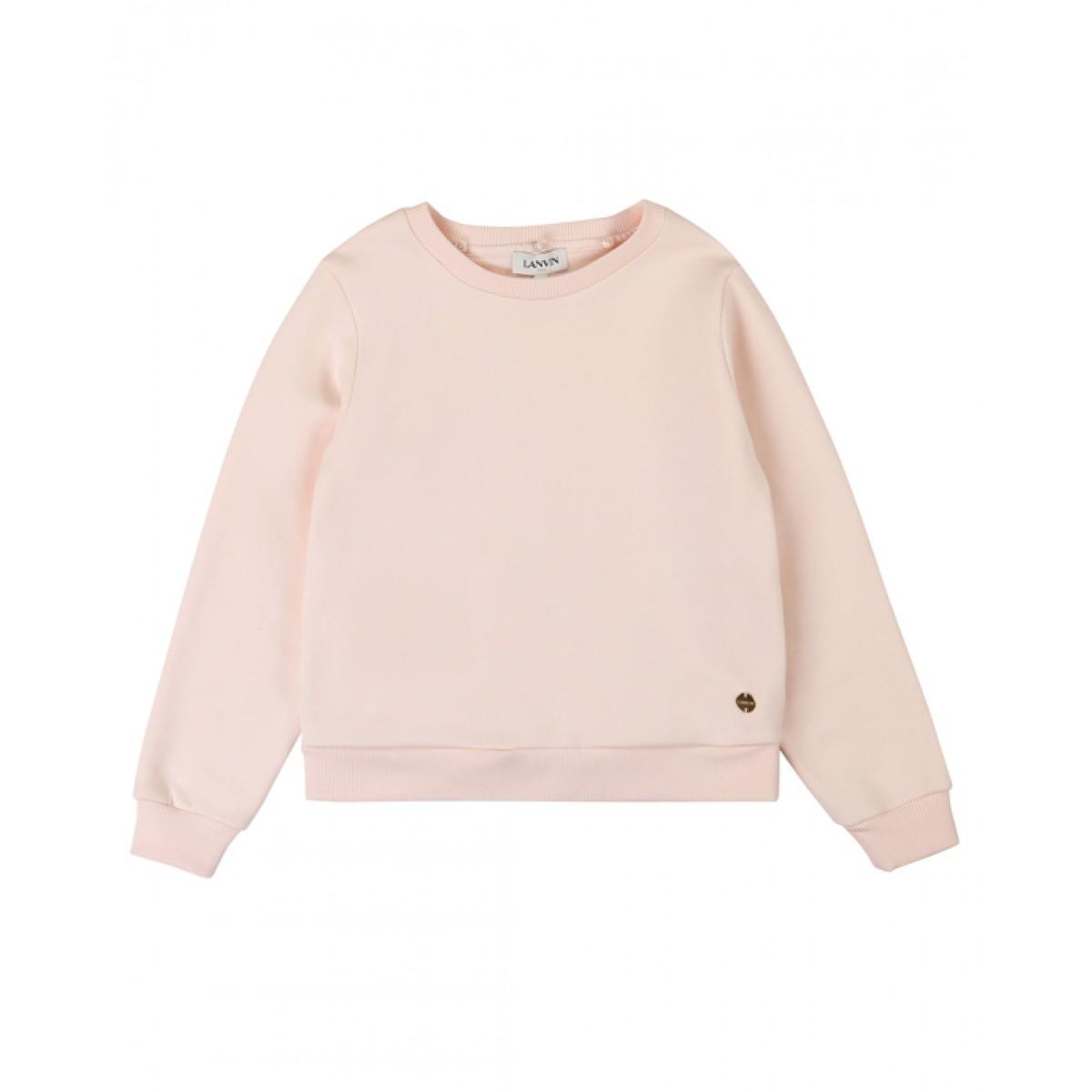 LANVIN Hooded floral print sweatshirt