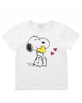 White Snoopy T-shirt