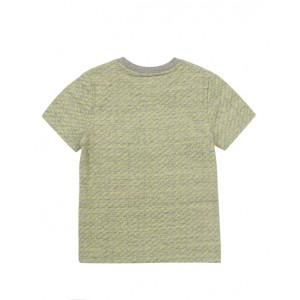 Gray yellow T-shirt